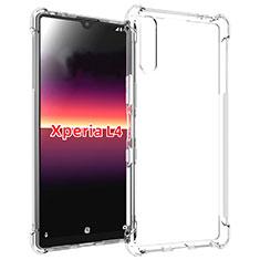 Funda Silicona Ultrafina Transparente para Sony Xperia L4 Claro