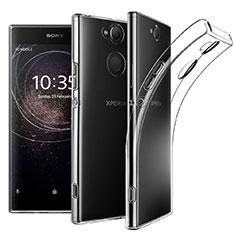 Funda Silicona Ultrafina Transparente para Sony Xperia XA2 Plus Claro