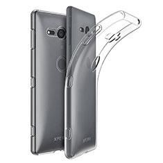 Funda Silicona Ultrafina Transparente para Sony Xperia XZ2 Compact Claro