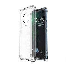 Funda Silicona Ultrafina Transparente para Vivo X50e 5G Claro