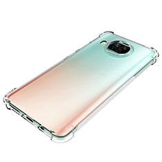 Funda Silicona Ultrafina Transparente para Xiaomi Mi 10T Lite 5G Claro