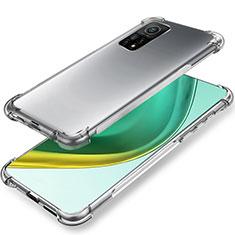 Funda Silicona Ultrafina Transparente para Xiaomi Mi 10T Pro 5G Claro