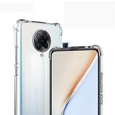 Funda Silicona Ultrafina Transparente para Xiaomi Redmi K30 Pro 5G Claro