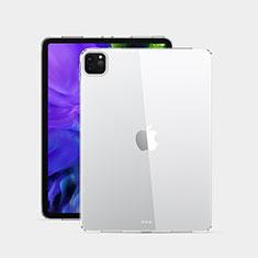 Funda Silicona Ultrafina Transparente T02 para Apple iPad Pro 12.9 (2020) Claro
