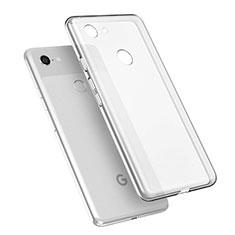 Funda Silicona Ultrafina Transparente T02 para Google Pixel 3 XL Claro