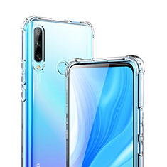 Funda Silicona Ultrafina Transparente T02 para Huawei Enjoy 10 Plus Claro