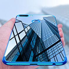 Funda Silicona Ultrafina Transparente T02 para Huawei Honor 9i Azul