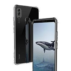 Funda Silicona Ultrafina Transparente T02 para Huawei Honor Note 10 Claro