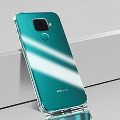 Funda Silicona Ultrafina Transparente T02 para Huawei Mate 30 Lite Claro