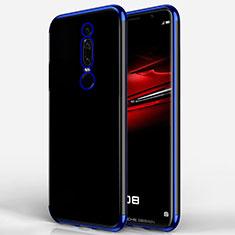 Funda Silicona Ultrafina Transparente T02 para Huawei Mate RS Azul