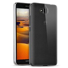 Funda Silicona Ultrafina Transparente T02 para Huawei Y6 Pro Claro