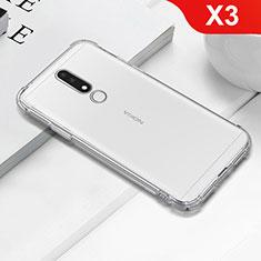 Funda Silicona Ultrafina Transparente T02 para Nokia X3 Claro