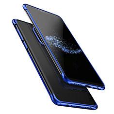 Funda Silicona Ultrafina Transparente T02 para OnePlus 6 Azul
