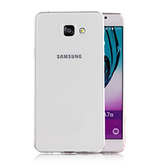 Funda Silicona Ultrafina Transparente T02 para Samsung Galaxy A5 (2016) SM-A510F Claro