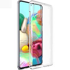 Funda Silicona Ultrafina Transparente T02 para Samsung Galaxy A71 5G Claro
