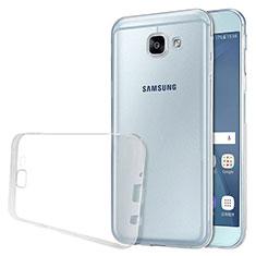 Funda Silicona Ultrafina Transparente T02 para Samsung Galaxy A8 (2016) A8100 A810F Claro