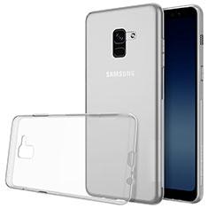Funda Silicona Ultrafina Transparente T02 para Samsung Galaxy A8+ A8 Plus (2018) Duos A730F Claro