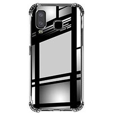 Funda Silicona Ultrafina Transparente T02 para Samsung Galaxy A8 Star Claro
