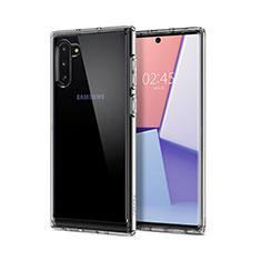 Funda Silicona Ultrafina Transparente T02 para Samsung Galaxy Note 10 5G Claro