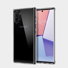 Funda Silicona Ultrafina Transparente T02 para Samsung Galaxy Note 10 Plus Claro