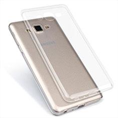Funda Silicona Ultrafina Transparente T02 para Samsung Galaxy On7 Pro Claro