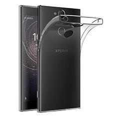 Funda Silicona Ultrafina Transparente T02 para Sony Xperia XA2 Plus Claro