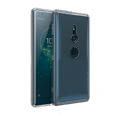 Funda Silicona Ultrafina Transparente T02 para Sony Xperia XZ2 Claro