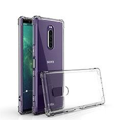 Funda Silicona Ultrafina Transparente T02 para Sony Xperia XZ4 Claro