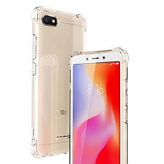 Funda Silicona Ultrafina Transparente T02 para Xiaomi Redmi 6A Claro