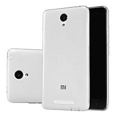 Funda Silicona Ultrafina Transparente T02 para Xiaomi Redmi Note 2 Claro