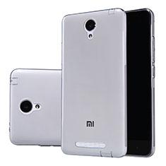 Funda Silicona Ultrafina Transparente T02 para Xiaomi Redmi Note 2 Gris