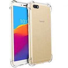 Funda Silicona Ultrafina Transparente T04 para Huawei Y5 Prime (2018) Claro