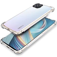 Funda Silicona Ultrafina Transparente T04 para Oppo A92s 5G Claro