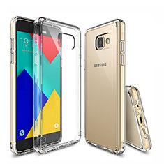 Funda Silicona Ultrafina Transparente T04 para Samsung Galaxy A9 Pro (2016) SM-A9100 Claro