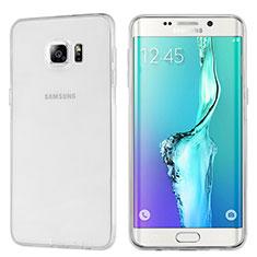 Funda Silicona Ultrafina Transparente T04 para Samsung Galaxy S6 Edge+ Plus SM-G928F Claro