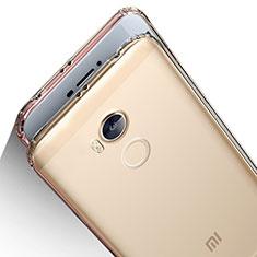 Funda Silicona Ultrafina Transparente T04 para Xiaomi Redmi 4 Prime High Edition Claro