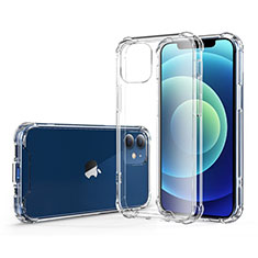 Funda Silicona Ultrafina Transparente T06 para Apple iPhone 12 Claro