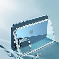 Funda Silicona Ultrafina Transparente T06 para Apple iPhone 12 Pro Max Claro