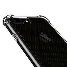 Funda Silicona Ultrafina Transparente T06 para Apple iPhone 8 Plus Claro