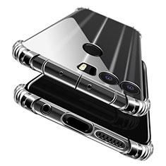 Funda Silicona Ultrafina Transparente T06 para Huawei Honor 8 Claro