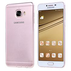 Funda Silicona Ultrafina Transparente T06 para Samsung Galaxy C7 SM-C7000 Claro