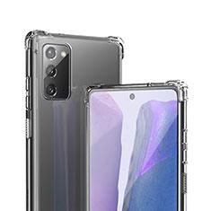 Funda Silicona Ultrafina Transparente T06 para Samsung Galaxy Note 20 5G Claro