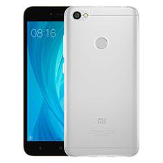 Funda Silicona Ultrafina Transparente T06 para Xiaomi Redmi Note 5A Prime Claro