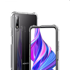 Funda Silicona Ultrafina Transparente T07 para Huawei Honor 9X Claro