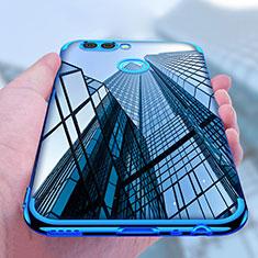 Funda Silicona Ultrafina Transparente T07 para Huawei Nova 2 Plus Azul