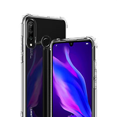 Funda Silicona Ultrafina Transparente T07 para Huawei P30 Lite XL Claro