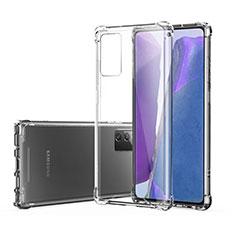 Funda Silicona Ultrafina Transparente T07 para Samsung Galaxy Note 20 5G Claro