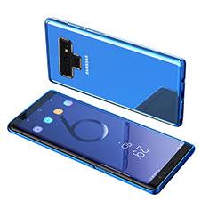 Funda Silicona Ultrafina Transparente T07 para Samsung Galaxy Note 9 Azul
