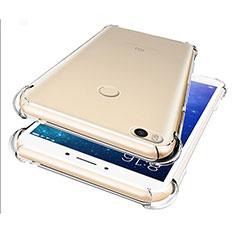 Funda Silicona Ultrafina Transparente T07 para Xiaomi Mi Max 2 Claro