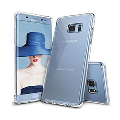 Funda Silicona Ultrafina Transparente T09 para Samsung Galaxy S7 Edge G935F Claro